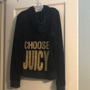 Juicy velvet hoodie